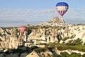 Balloons in Flight - Goreme - Cappadocia - Turkey (5761048757).jpg