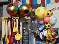 Balls and beach toys at Margate Kent England 1.jpg