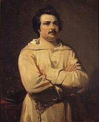 Louis Boulanger: Portrait d'Honoré de Balzac