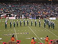 Band of the Hour performing pregame at 2008 Emerald Bowl 2.JPG