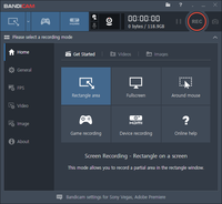 Bandicam Screen Recorder 4.0 screenshot