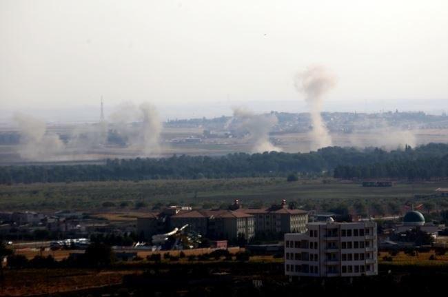 Barış Pınarı Hârekatı sonrası Resulayn (Serêkanî) bombalanıyor