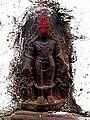 Barabar Caves - Temple Statue (9227482750).jpg