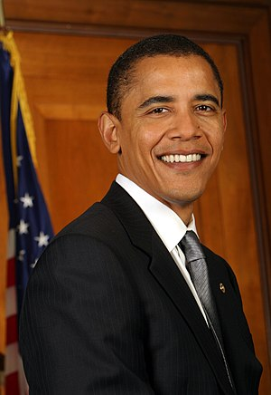 Barack Obama, President of the United States.