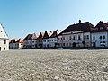 Bardejov, Radničné námestie západ.jpg