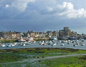 Barfleur - The harbour in Barfleur