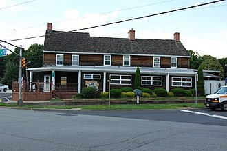 National Register of Historic Places listings in Gloucester County, New Jersey - Image: Barnsboro Hotel Barnsboro NJ USA