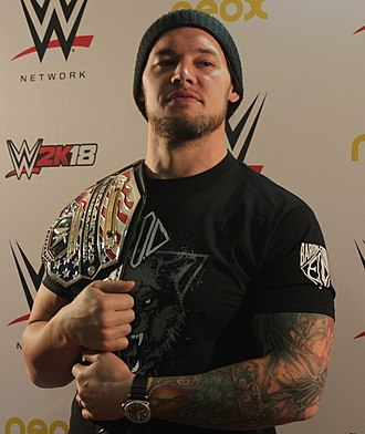 Baron Corbin - Corbin as United States Champion in 2017