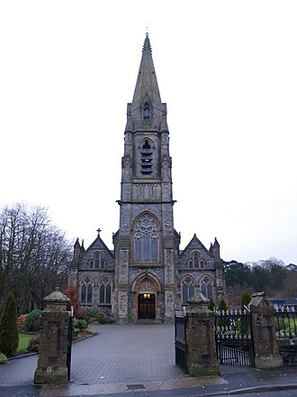Strabane - Image: Barrack Street RC Church, Strabane geograph.org.uk 659047