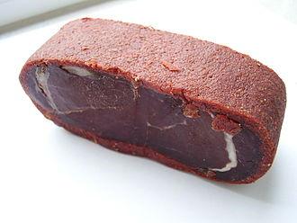 Dried meat - Armenian basturma