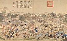 Xinjiang-Xinjiang under Qingdynastin-Battle of Oroi-Jalatu