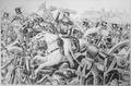 Battle of Resaca de la Palma. May 1846. Copy of lithograph by James Baillie, 1846., ca. 1900 - 1982 - NARA - 531092.tif