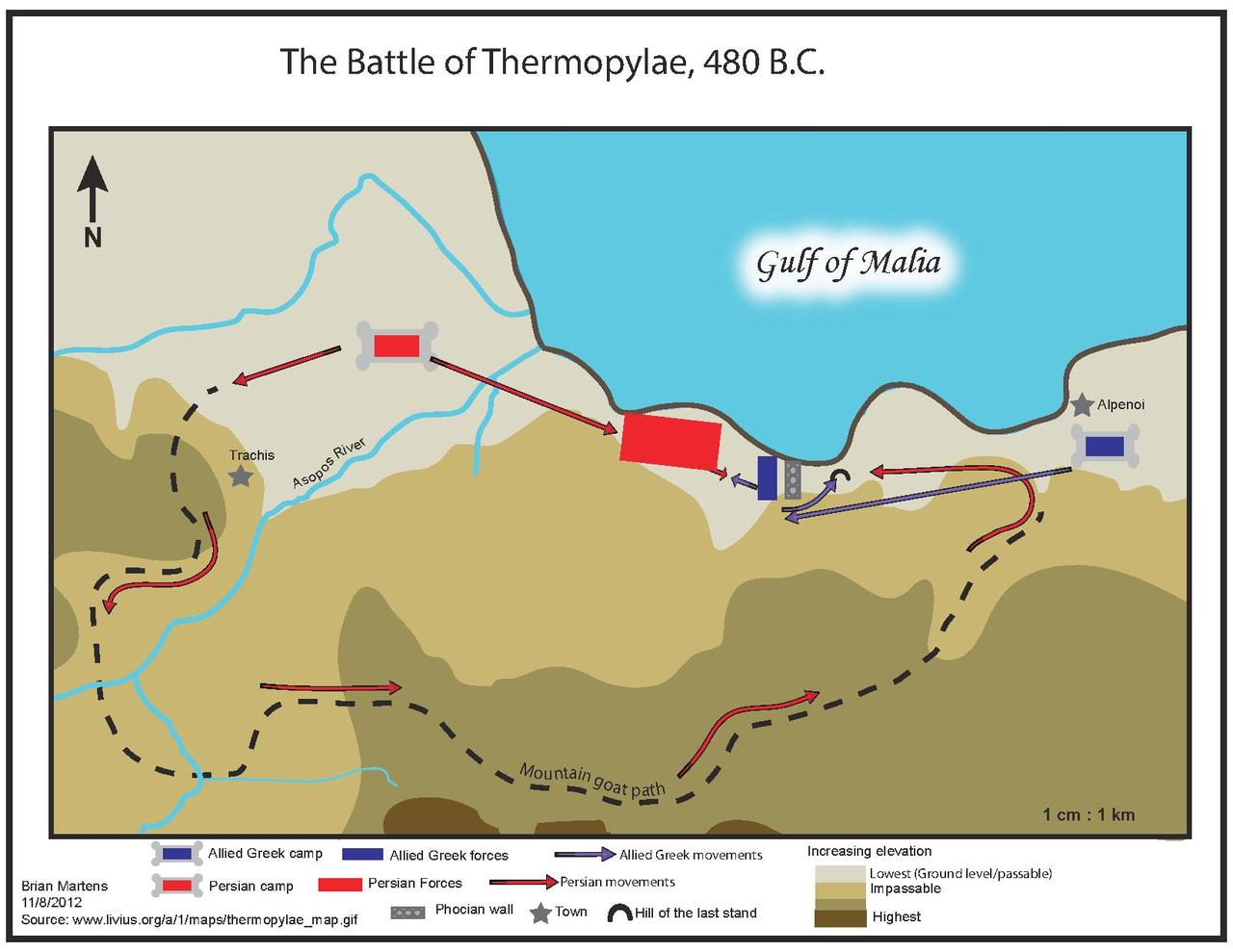 The Battle of Cannes - one of the largest battles of antiquity