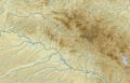 Bayerischer Wald (Relief und Gewässer) - Deutsche Mittelgebirge, Serie A-de.png