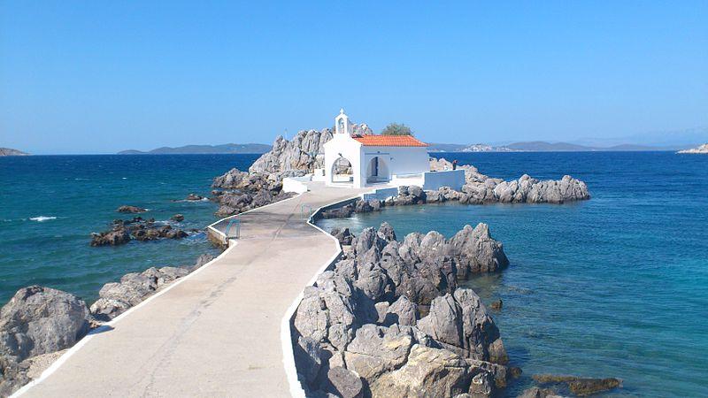 Vé máy bay giá rẻ đi Chios Hy Lạp