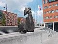 Beeld voor Anton de Kom(plein) Amsterdam Zuidoost2.jpg