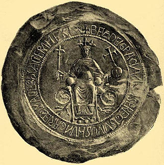 Béla III of Hungary - Béla III's seal