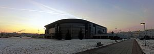 2005 FIVB Volleyball World League - Image: Belgrade Arena, 06.01.2011. 2