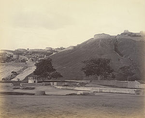 English: Bellary Rock and Fort