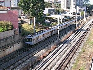 Belo Horizonte Metro - Image: Belo Horizonte metro train