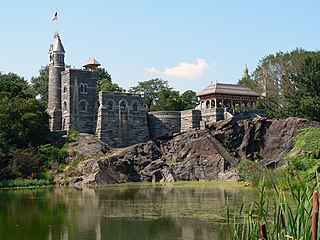 Belvedere Castle Folly in Central Park in Manhattan, New York City
