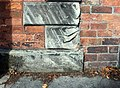 Benchmark at 40 Devonshire Road, Birkenhead.jpg