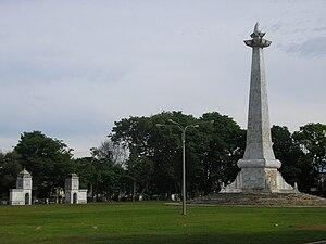 Bengkulu (city) - A square in Bengkulu City.