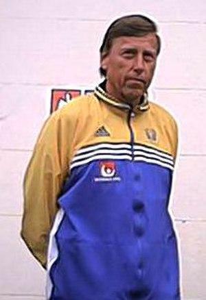 Bengt Johansson (handball) - Bengt Johansson in Lund, Sweden, 2002.