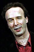 By virtue of his win for Life Is Beautiful (1998), Roberto Benigni became the second actor to win this award for a role in a film he directed himself (the first being Laurence Olivier). Benigni cropped.jpg