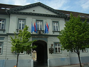 Serbian Radical Party - The Serbian Radical Party headquarters in Zemun, Belgrade