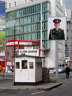 A Checkpoint Charlie napjainkban