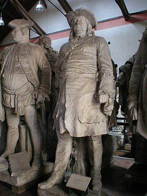Statue im Berliner Lapidarium aus der Siegesallee (Quelle: Wikimedia)