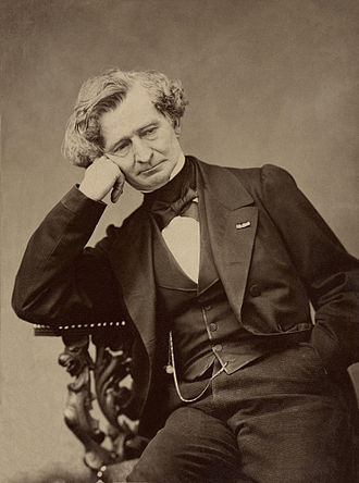 Messe solennelle (Berlioz) - Hector Berlioz by Pierre Petit