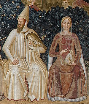 Bernabò Visconti - Bernabò and his wife, Beatrice