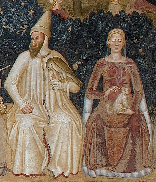Bernabò e Beatrice Visconti