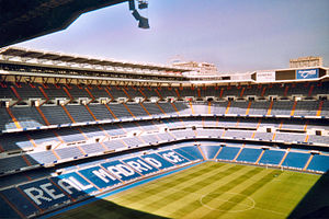 1982 FIFA World Cup - Image: Bernabeu stadium
