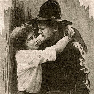Bessie Love - Bessie Love and Douglas Fairbanks in The Good Bad Man (1916), here listed under the title, Coyote o' The Rio Grande.
