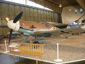 Gustav Rödel - Rödel's Bf 109 G-2 remake in the Militärhistorisches Museum Flugplatz Berlin-Gatow.