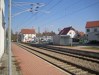 Kraich Valley Railway - Unteröwisheim station