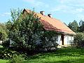 Białystok, dom, po 1880 w osadzie przyfabrycznej Hasbacha, Dojlidy Fabryczne 25g - 005.jpg