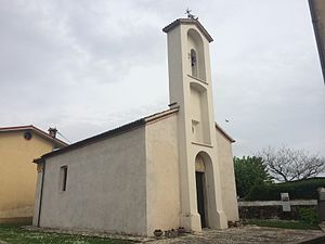 Bicinicco - Church of Sant'Andrea, in the frazione of Gris.