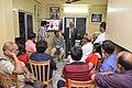 Bikas Chandra Sanyal Addresses - Opening Ceremony - PAD 5th Free Short Term Course On Photoshop - Kolkata 2018-02-10 1261.JPG
