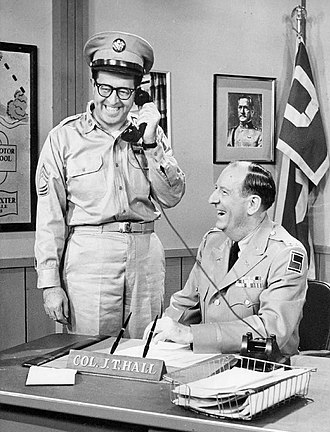 The Phil Silvers Show - Sgt. Bilko with Col. Hall