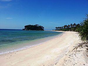 Tablas Island - Binucot Beach