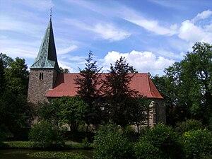 Bippen - church: Sankt Georges Kirche