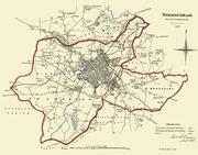 Birmingham - Reform Act Map 1831