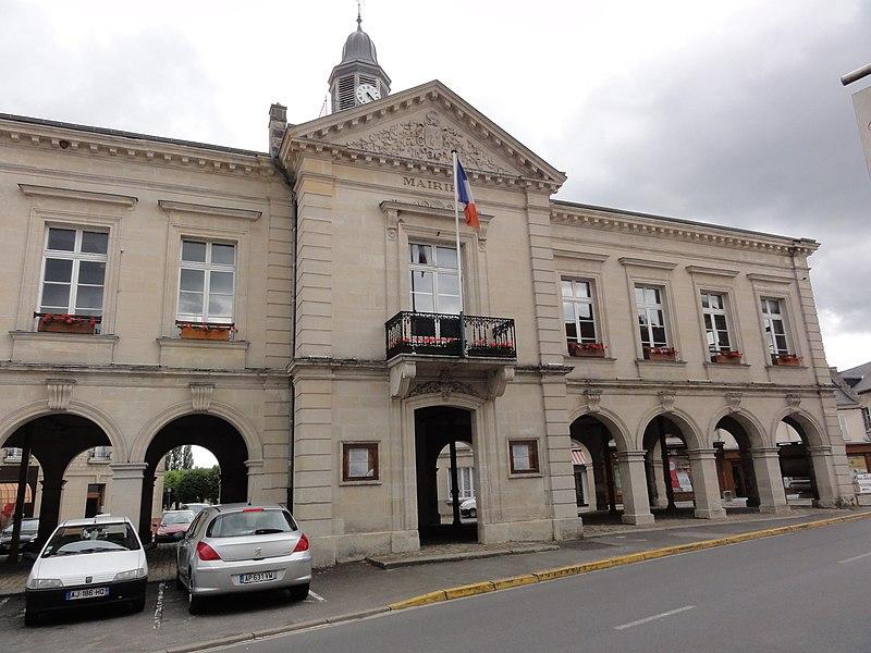 Blérancourt (Aisne) mairie