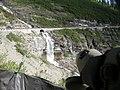 Black Swift nest with egg, Glacier NP, July 5, 2012 (7515297774).jpg