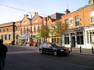 Blackrock, Dublin - Blackrock street scene