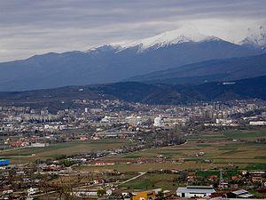 Blagoevgrad - Blagoevgrad panorama